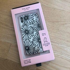 NWT Kate Spade  iPhone X case